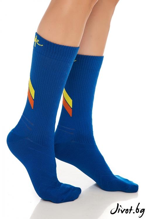 Сини дамски чорапи ALL ACTIVE BLUE / Krak me