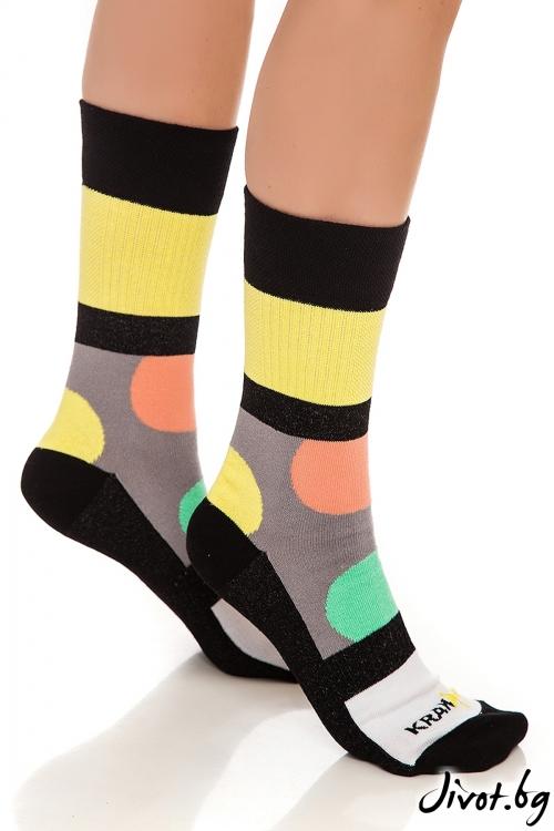 Къси дамски чорапи Bubble Gum / Krak me