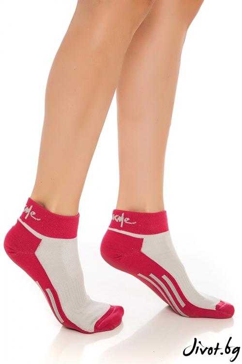 Комплект дамски спортни чорапи DUO YOGA ACTIVE / Krak me