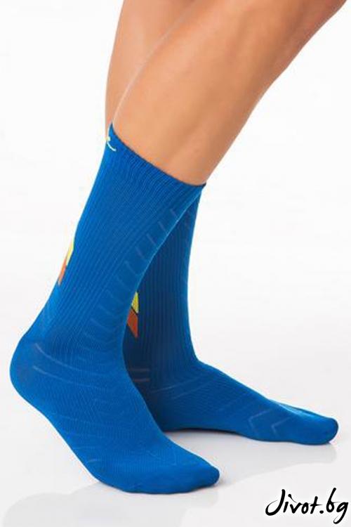 Мъжки сини чорапи ALL ACTIVE BLUE / Krak me