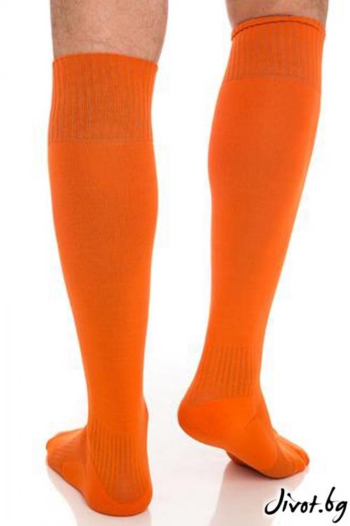 Мъжки оранжеви чорапи / Krak me