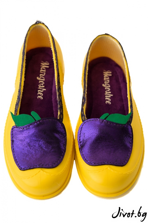 "Уникални жълти мангоши ""Лилави ябълки""/ KIPRA"