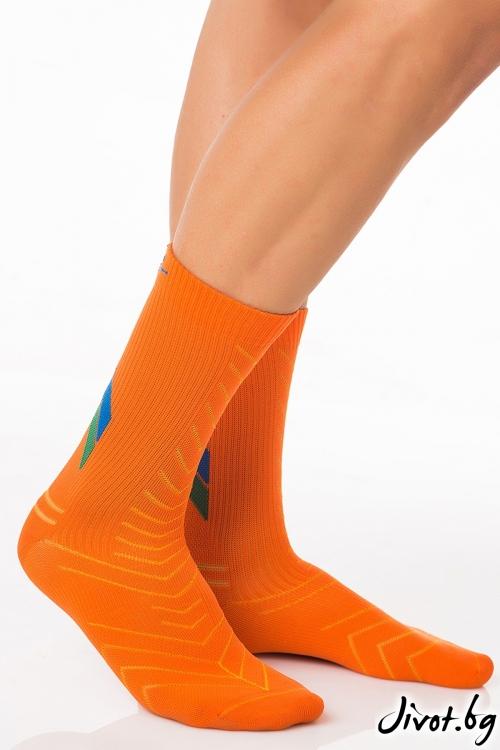 Мъжки чорапи All Active Orange / Krak me
