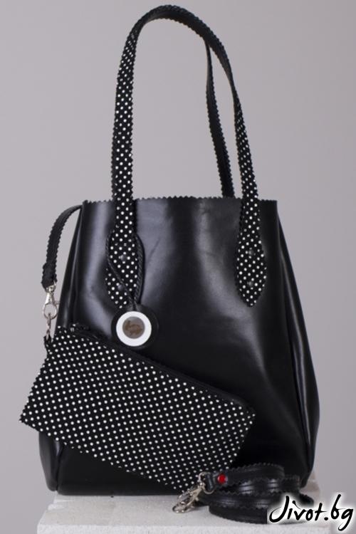 Кожена чанта 1950 Bag / Pesh Art
