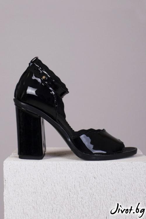 Дамски кожени обувки на ток Fancy Patent Babe / PESH ART