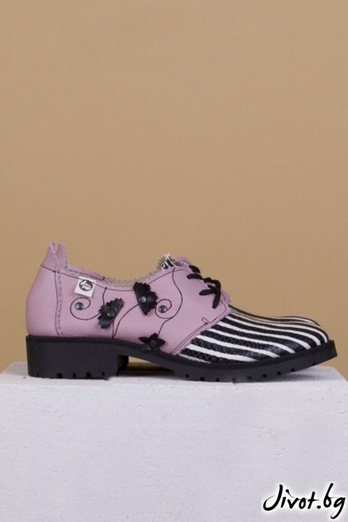 Дамски класически обувки Melancholic Garden / PESH ART