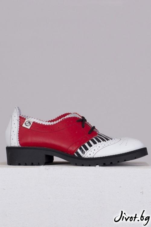 Ръчно декорирани обувки Ruby / PESH ART