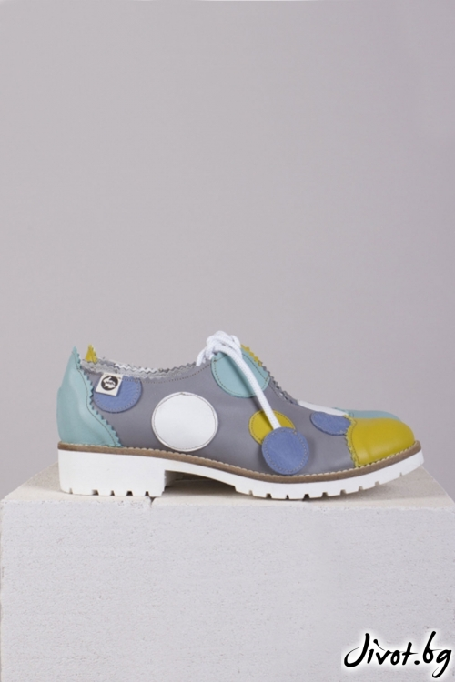 Нежни ръчно декорирани класически обувки Confetti / PESH ART