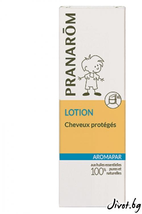 Лосион защитена коса против въшки Аромапар / Pranarom