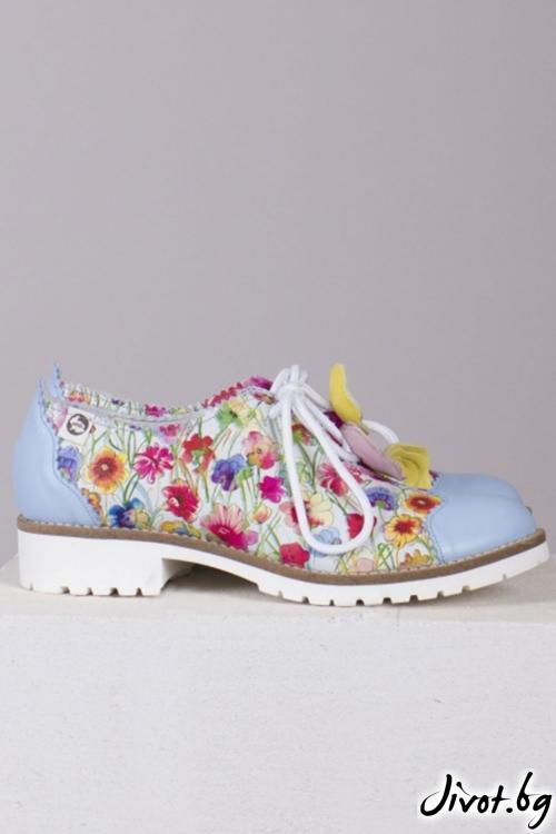 Дамски класически обувки Multiflower / PESH ART