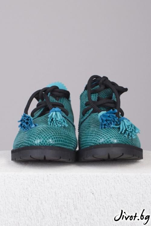 Кожени обувки Polar Lights / PESH ART