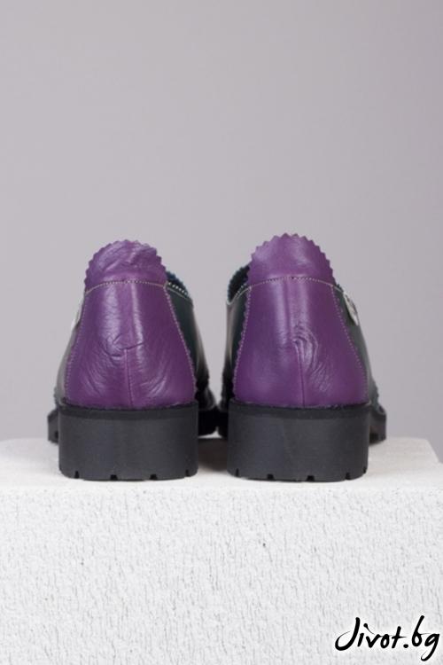 Дамски обувки от естествена кожа Nature / PESH ART
