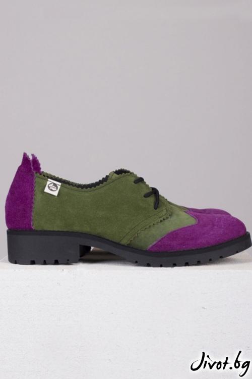 Дамски обувки в класически стил Precious Colors / PESH ART