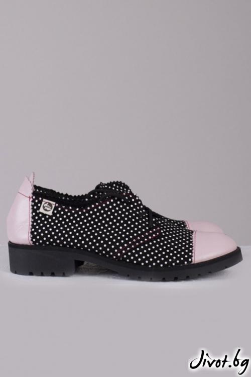 Сладки кожени обувки Sweet 60's / PESH ART