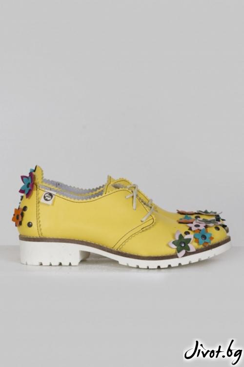 Класически кожени обувки Jean / PESH ART