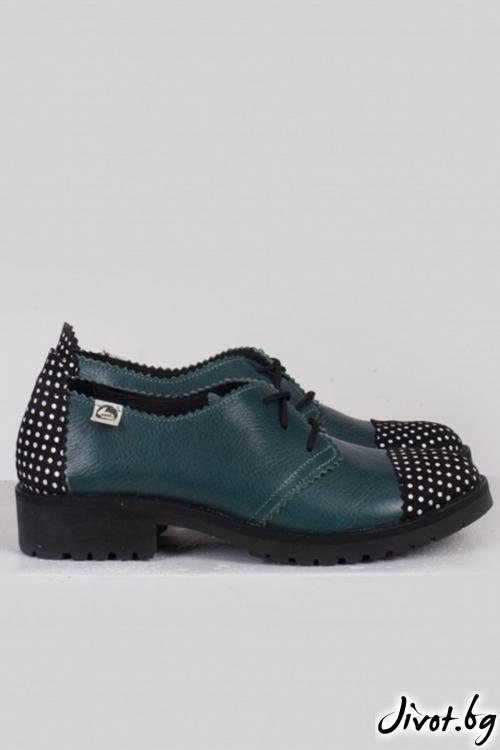 Кожени дамски обувки Ivy / PESH ART