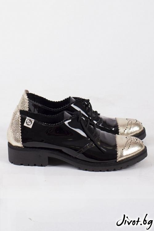 Класически дамски обувки The Poisened Apple / PESH ART