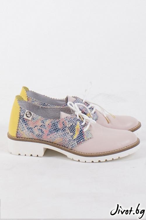 Кожени обувки Sweet & Tasty / PESH ART
