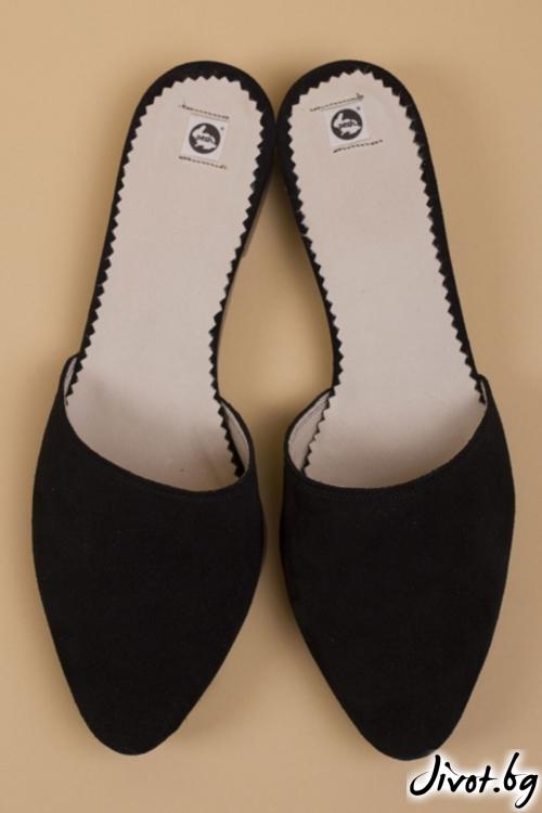 Kласически велурени обувки Classic Slide / PESH ART