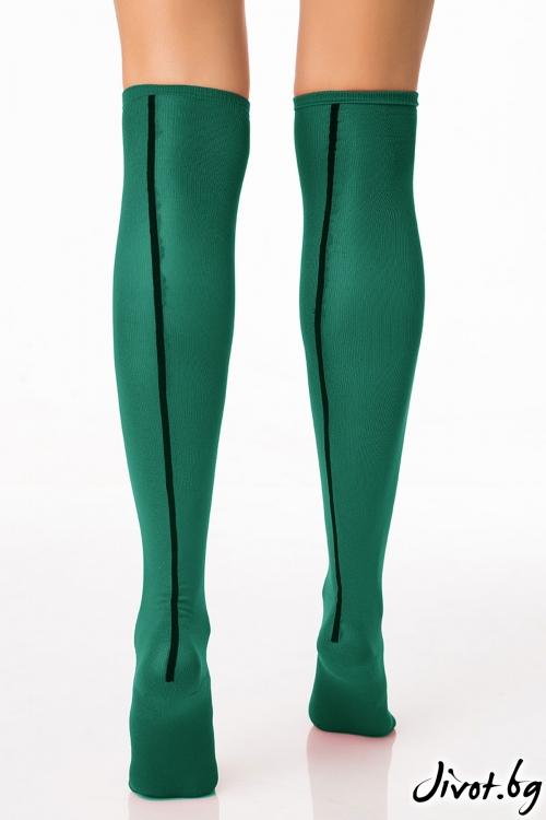 Дамски чорапи Hot Line Green / Krak me
