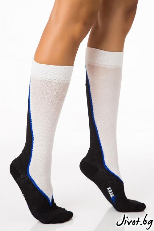 Дамски чорапи Hot Line Black / Krak me