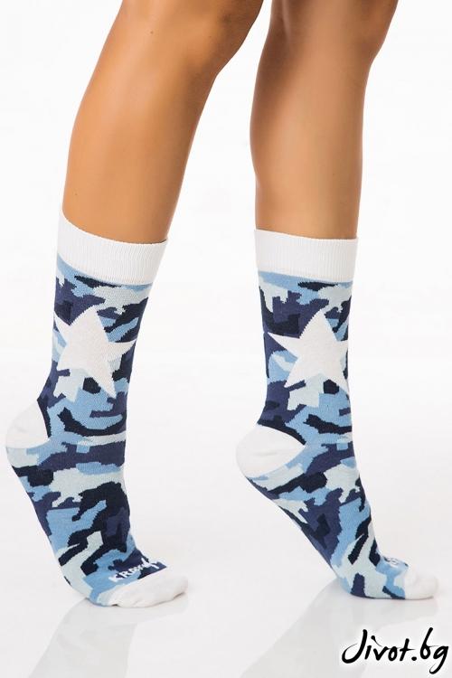 Къси дамски чорапи Military Star / Krak me