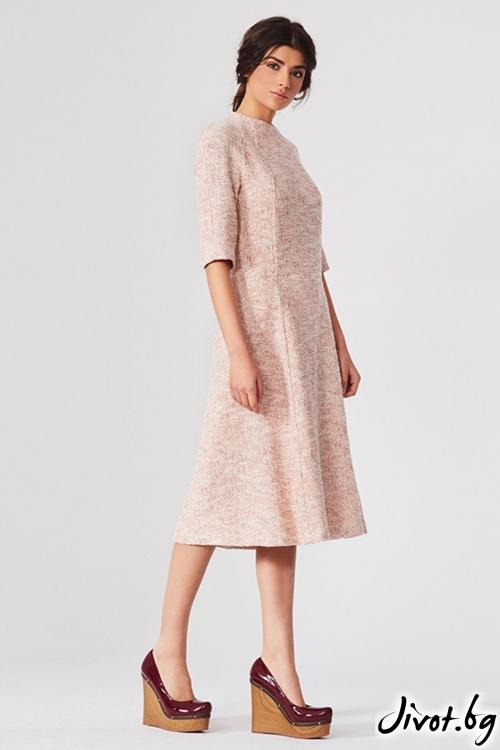Разкошна разкроена рокля 7/8-ми / Lila Style House