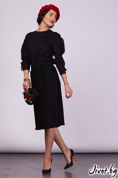 Пола от черен солей / Модна къща АМБИЦИЯ