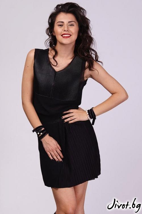 Черна къса пола / Модна къща АМБИЦИЯ