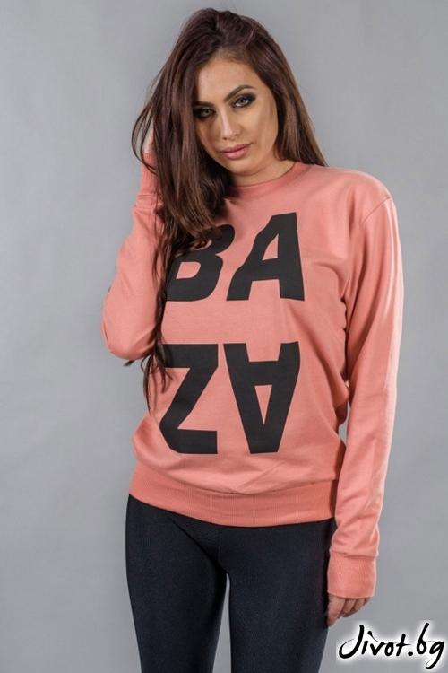 Красив дамски суичър / BAZA