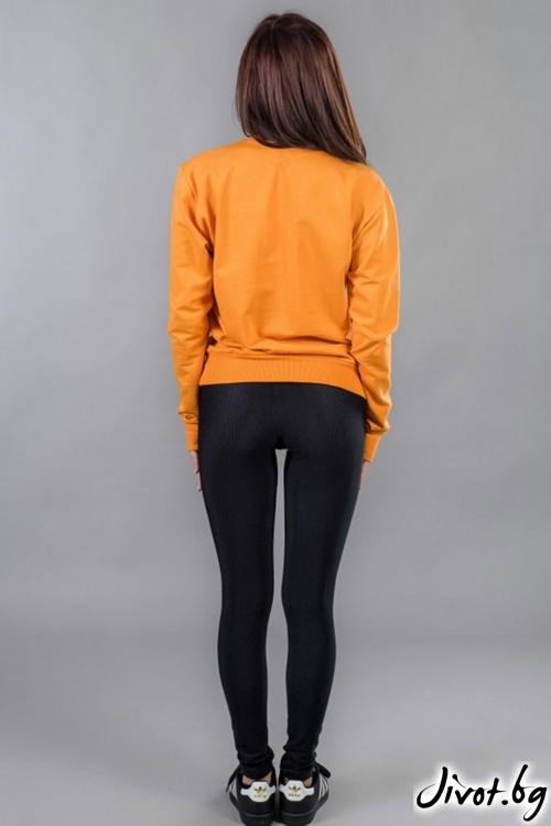 Оранжев...