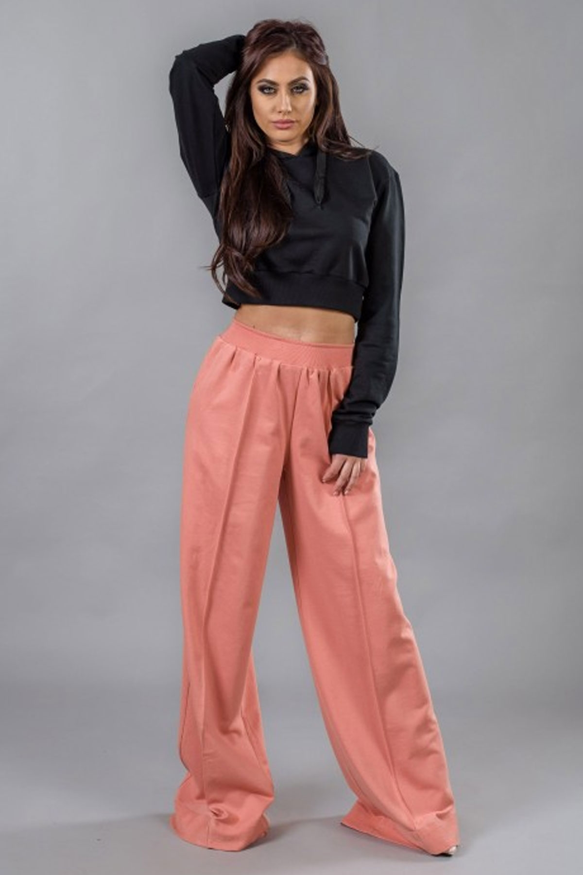 Дамски широк панталон / BAZA