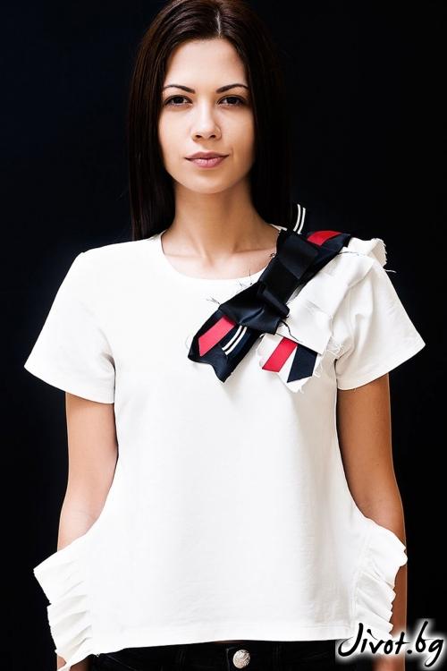 Дамска тениска White fairy / Décollage