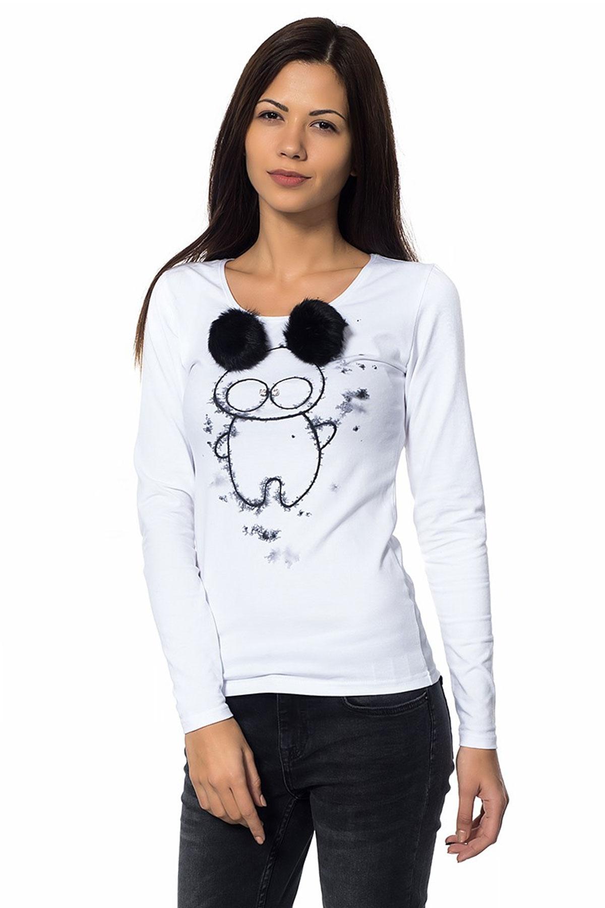 Сладка дамска блуза Tedy bear / Décollage