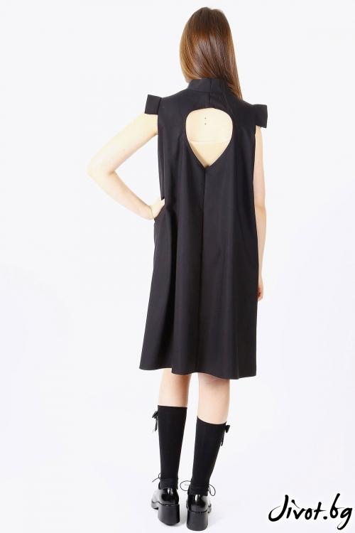 Красива разкроена дизайнерска рокля / SHOP MY J