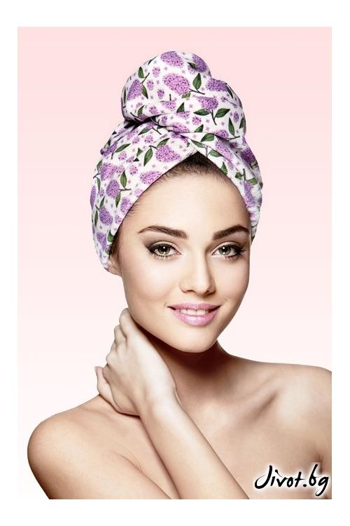 Кърпа за коса SPRING / AGLIQUE