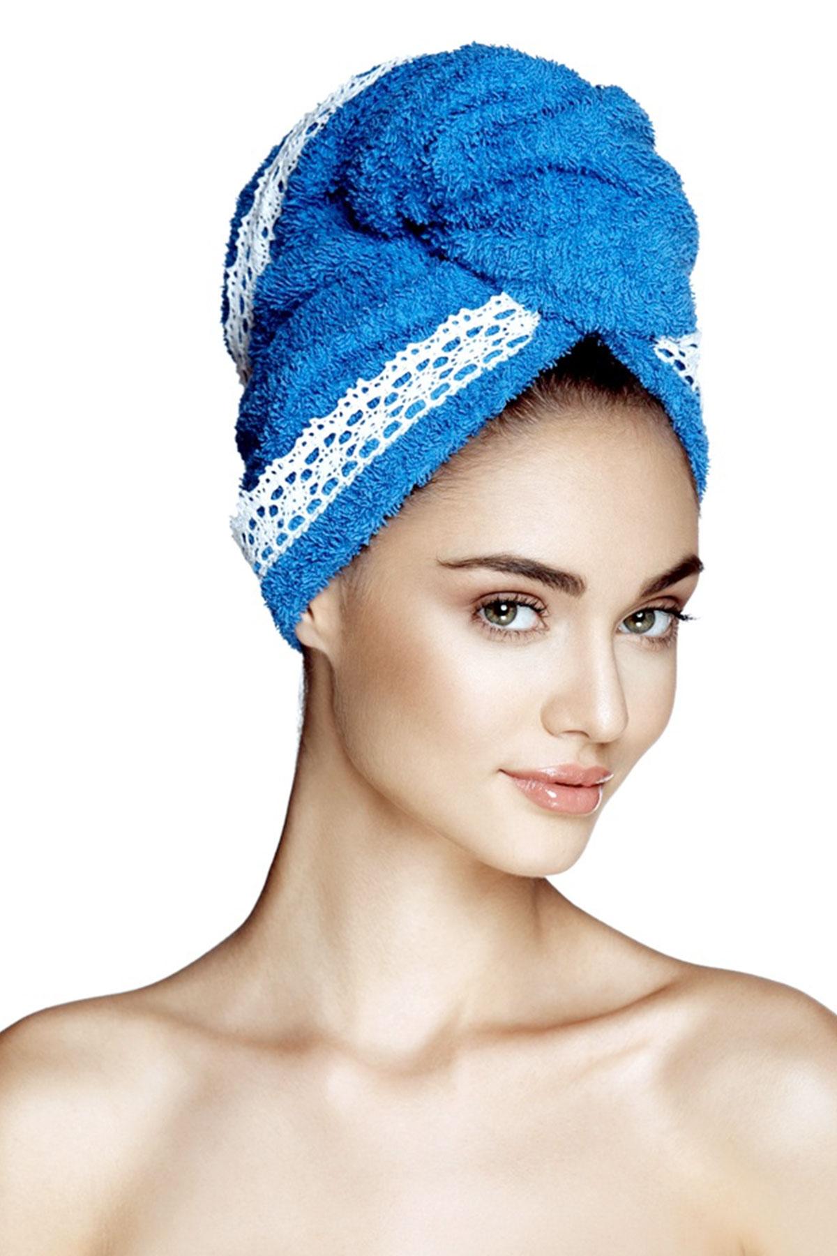 Kърпа за коса GRACE BLUE SEA / AGLIQUE