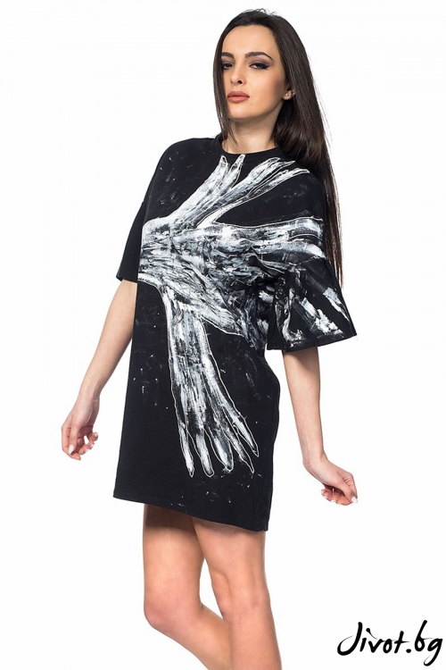 Прекрасна дамска рокля Wings / Décollage
