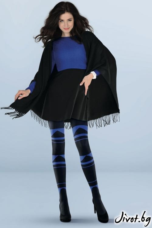Плътен фигурален чорапогащник 3D Abby / 792