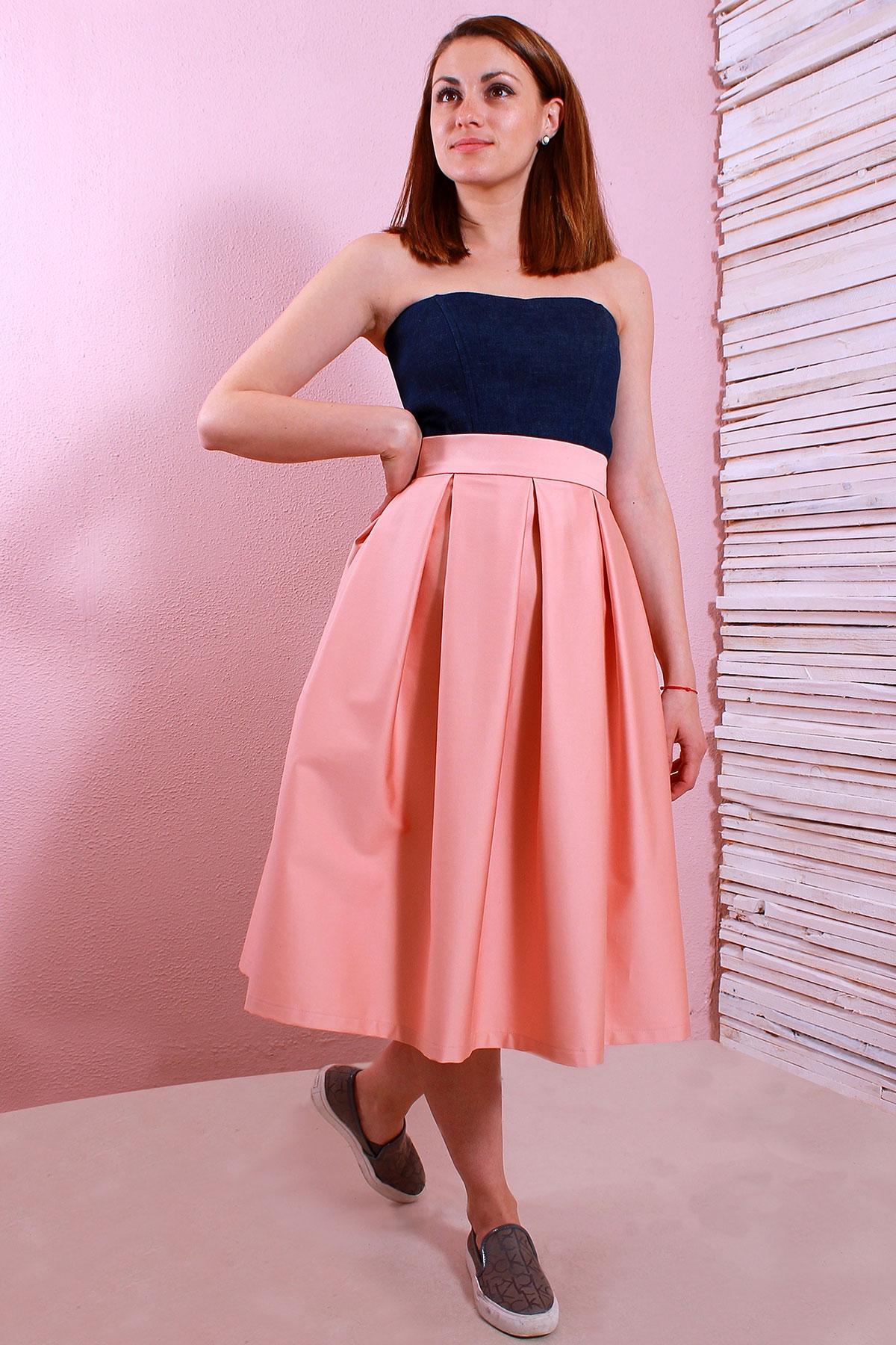 Красива дамска пола с плохи / Polina Petrova