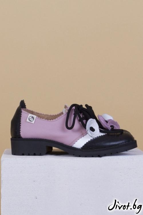 Дамски обувки от естествена кожа Melancholic / PESH ART