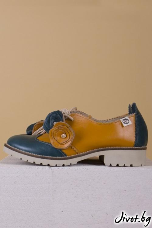 Дамски обувки от естествен кожа Autumn / PESH ART