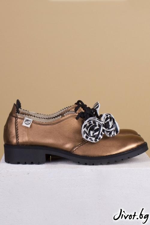Дамски обувки от естествен кожа Mars / PESH ART