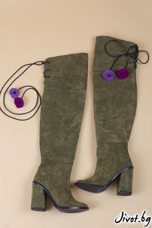 Дамски обувки на ток The Queen / PESH ART
