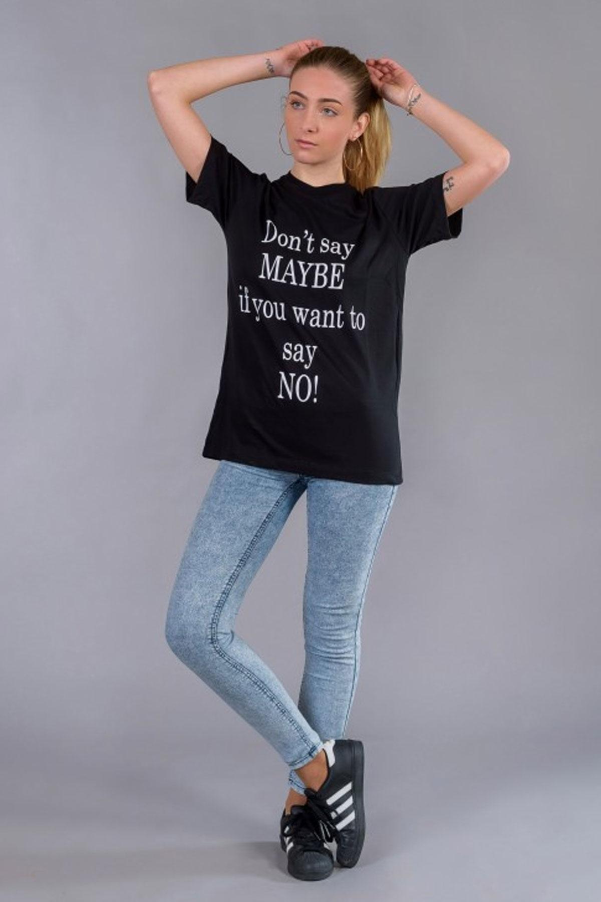 Дамска оувърсайз тениска BW143 / BAZA