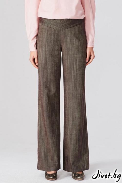 Широк панталон с колан / Lila Style House