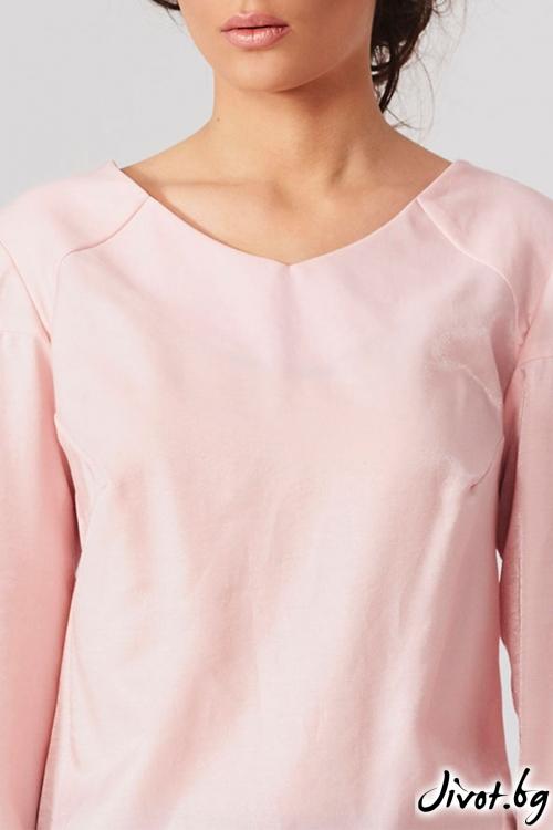 Риза в бледо розово / Lila Style House