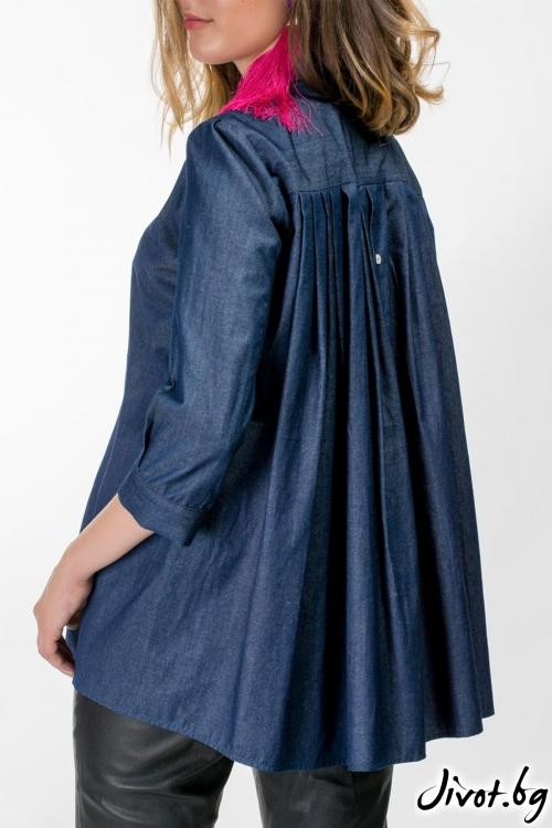 Дамска дънкова риза / Vivastela