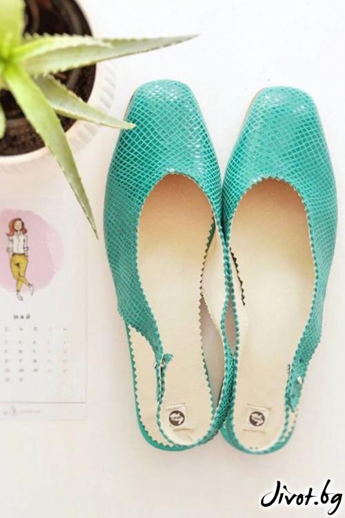 Дизайнерски обувки от естествен велур Arabella Prato / PESH ART