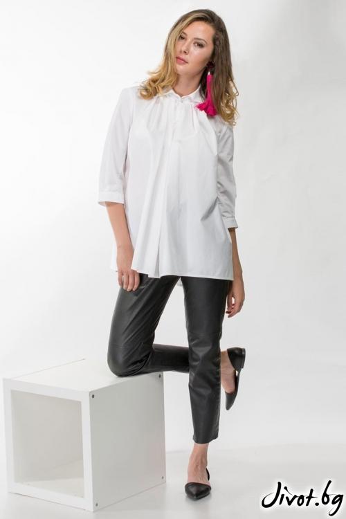 Дамска бяла риза / Vivastela